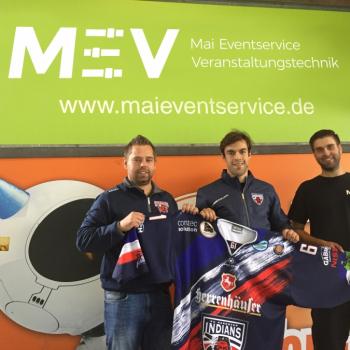 Neuzugang bei den Hannover Indians -- Herzlich Willkommen Yannick Mund !!